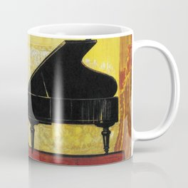 Vintage Piano Recital Illustration (1920) Coffee Mug