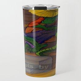The Cajun Gator (Flat Color Version) by: Henry Wardsworth aka Concepts_By_Henry Travel Mug