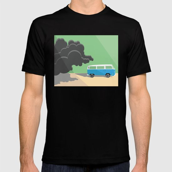Dharma Van vs Smoke Monster T-shirt