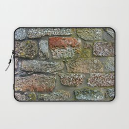 Old granite wall Laptop Sleeve