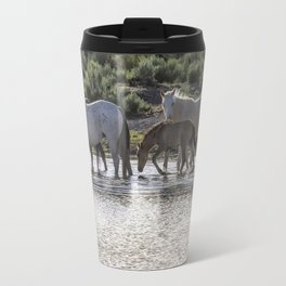 Reaching the Waterhole Travel Mug