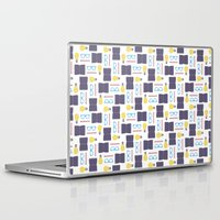 writing Laptop & iPad Skins featuring Reading & Writing by Sebastián Guha