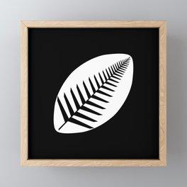 NZ Rugby Framed Mini Art Print