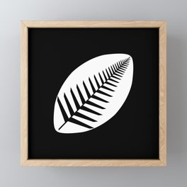 NZ Rugby Framed Mini Art Print