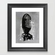 Bombshell Framed Art Print