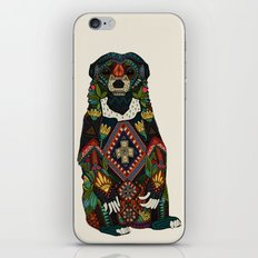 sun bear almond iPhone Skin