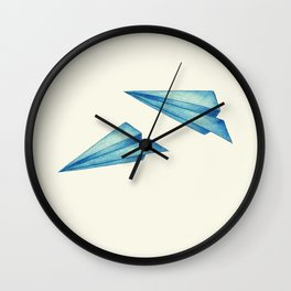 High Flyer | Origami | Simplified Wall Clock