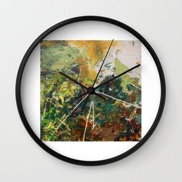 Moss Study 4 Wall Clock