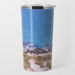 Land vs Sea Travel Mug