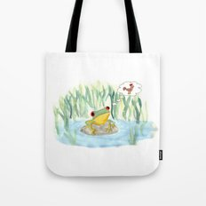 The story of the Chicken Frog Tote Bag