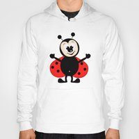 ladybug Hoodies featuring Ladybug by Digital-Art