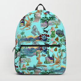 Ladies of the canyon, tribute to Joni Mitchell. Backpack