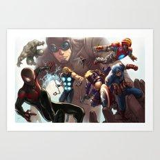 Ultimates Art Print