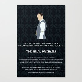 The Final Problem - Mycroft Holmes Canvas Print
