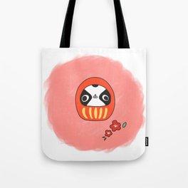 "Japanese chin Mochio ""MOCHIO DARUMA"" Tote Bag"