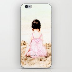 Baby at Beach iPhone & iPod Skin