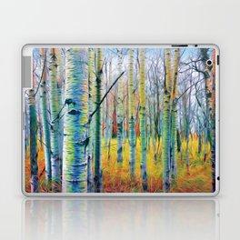 Aspen Trees in the Fall Laptop & iPad Skin