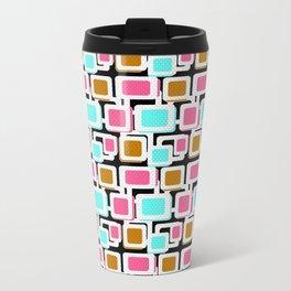 Retro . Abstract geometric pattern 1 Travel Mug