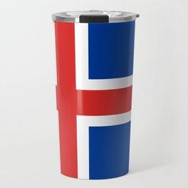 Flag: Iceland Travel Mug