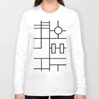 grid Long Sleeve T-shirts featuring PS Grid by Project M
