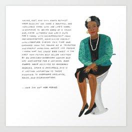 Maya Angelou Kunstdrucke