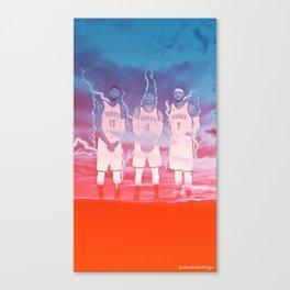 OK3 - Thunder Canvas Print