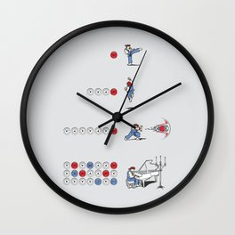 The Ultimate Combo Wall Clock