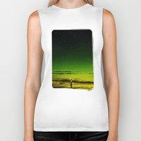 surfer Biker Tanks featuring Lost Surfer Star Series by Stoian Hitrov - Sto