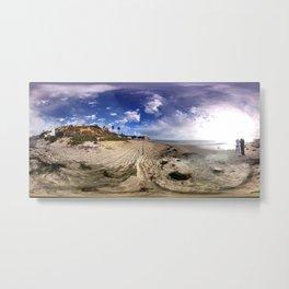 Crystal Cove Beach 360 Metal Print