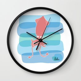 Calamar Wall Clock
