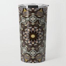 Mushroom mandala 5 Travel Mug