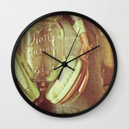 Mason #4 Wall Clock