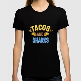 Tacos And Sharks Gift T-shirt