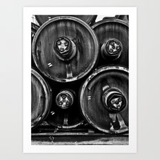 Wheel Stack Art Print