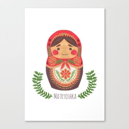 Matryoshka Doll Canvas Print