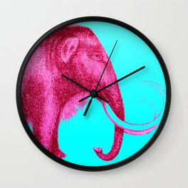 Mammoth Lover Wall Clock