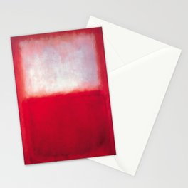 Mark Rothko - White over Red Stationery Cards