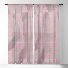 Poppies S13 Sheer Curtain