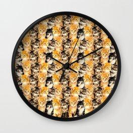 Kittywall Wall Clock