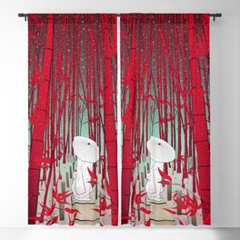 Yuki- onna Blackout Curtain