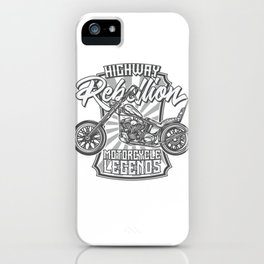 Motorcicle iPhone Case