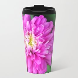 Zinnia Flower Travel Mug