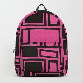 Windows & Frames - Pink Backpack