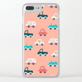 CAR DOODLES Clear iPhone Case