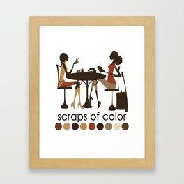 Scraps of Color Limited Edition T-shirt Framed Art Print