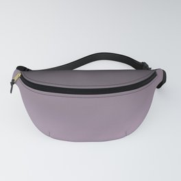 Black, lilac Ombre. Fanny Pack