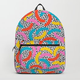 I Love Memphis Patterns Backpack