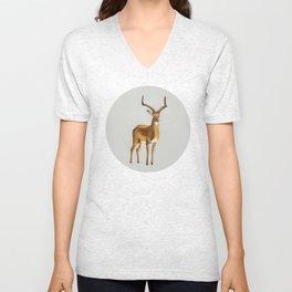 Money antelope Unisex V-Neck