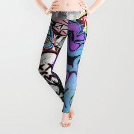 Graffiti is art. Leggings