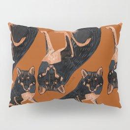 Black dingo (c) 2017 Pillow Sham